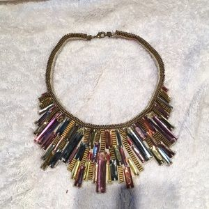 Anthropologie Gem Necklace